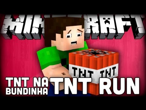 TNT na BUNDINHA - MINECRAFT - TNT RUN ( ft Lpz & Stux )