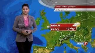 Weather Forecast for 29-05-2015 – NEWS 7 TAMIL Program