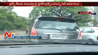 Exclusive Visuals of Puri Jagannath Leaving to Excise Office || Drugs Case || NTV - NTVTELUGUHD