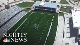 Record Amount Spent On Texas Football Stadium | NBC Nightly News - NBCNEWS