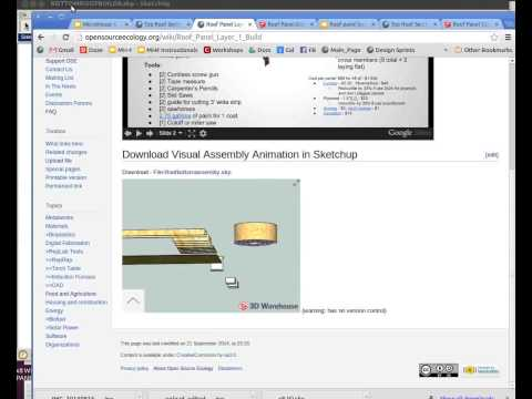 Sketchup to Animated Instructionals