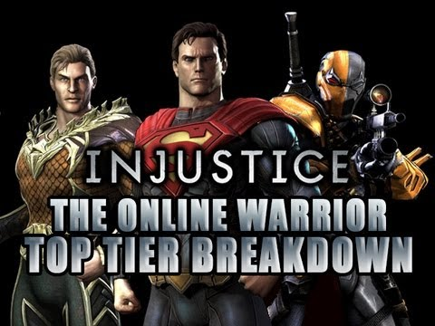 INJUSTICE: THE ONLINE WARRIOR 'TOP TIER BREAKDOWN' Episode 3