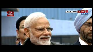 PM Narendr Modi flag off Delhi-Varanasi Vande Mataram Express train | CVR News - CVRNEWSOFFICIAL