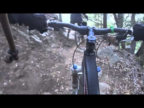 Sturtevant Trail Angeles Nat. Forest Downhill Mountain Biking