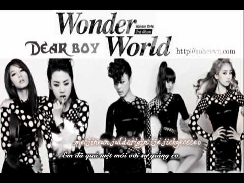 [SHVN] [Vietsub + Kara] Dear. Boy - Wonder Girls