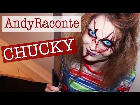 Chucky Makeup sur AndyRaconte