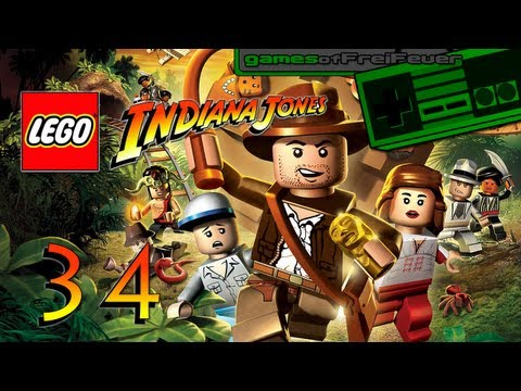 Lego Indiana Jones Co Op part 34 HD Auf zum Gralstempel 