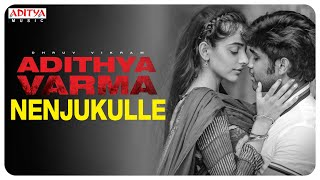 Nenjukulle  Audio Song | Adithya Varma Songs |Dhruv Vikram,Banita Sandhu|Gireesaaya|Radhan - ADITYAMUSIC