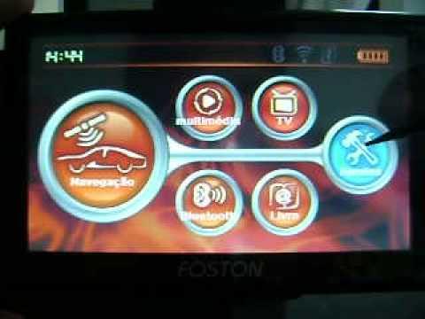 GPS Foston configurar caminho de navegação-FS-707dc, 513DC e outros