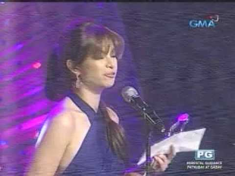 Angel Locsin Accepts FAMAS Best Actress Award for One More Try