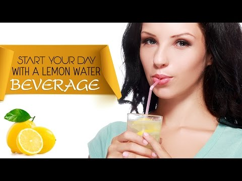 The Best Recipe To Lose Weight: Lemon And Honey Drink