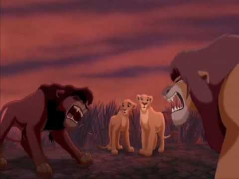 The Lion King Simba's Pride - Kovu Saves Kiara & Confronts Simba fandub/collab