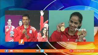 Pullela Gopichand Congratulate Commonwealth Game Winners | Says Team Spirit Causes For Win | iNews - INEWS