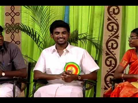 suntv raja and bharathibaskar at gce pattimandram part 1