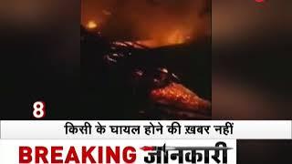 Morning Breaking: Massive fire breaks out in Jawahar Nagar, Srinagar - ZEENEWS