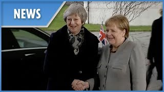 Theresa May meets with Angela Merkel for Brexit crunch talks - THESUNNEWSPAPER
