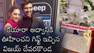 Vijay Devarakonda Special Gift For Kiara  | Kabhir Singh - RAJSHRITELUGU