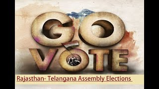 Rajasthan-Telangana Assembly Elections 2018: Polling booth in Jubilee Hills - NEWSXLIVE