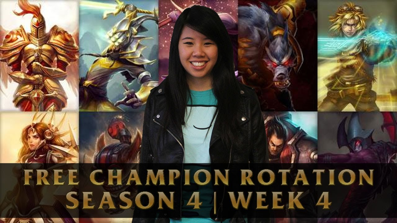 Free League of Legends Champions Breakdown | Season 4: Week 4