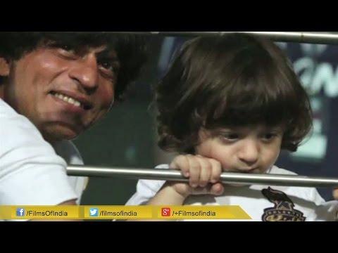 Leaked: AbRam Dances In Car With SRK