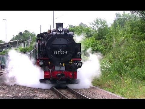 Eisenbahn Highlights 2010 - 2/3 - Railway / Dampflok - Zug