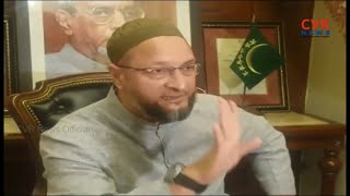 MIM MP Asaduddin owaisi Fries on Central Govt over Triple Talaq Bill Ordinance | CVR News - CVRNEWSOFFICIAL