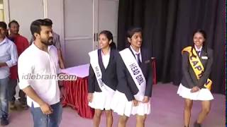Mega Power Star Ram Charan Celebrates Independence Day In Chirec School - idlebrain.com - IDLEBRAINLIVE