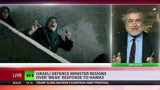 Israeli Defense Minister resigns, calls Gaza ceasefire 'capitulation to terror' - RUSSIATODAY