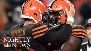 Cleveland Browns End Grueling 635-Day Losing Streak | NBC Nightly News - NBCNEWS