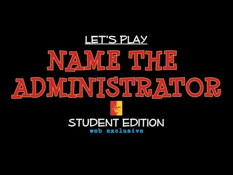 GAME: Name the Administrator - Pittsburg State University