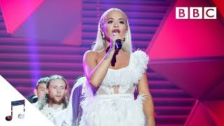 Rita Ora performs 'Let You Love Me'  - BBC - BBC