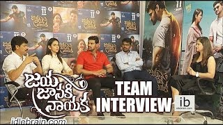 Jaya Janaki Nayaka team interview - idlebrain.com - IDLEBRAINLIVE