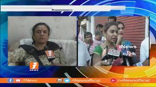 POW State President Sandhya Face To Face Over Sri Reddy Controversy And Casting Couch Issues | iNews - INEWS