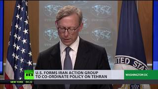 US creates Iran Action Group to 'change regime's behavior' - RUSSIATODAY