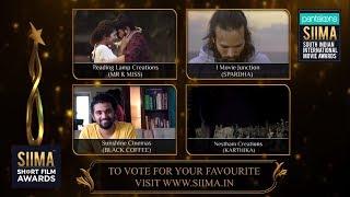 SIIMA Short Film Awards 2019   Best Film Nominees   Telugu - YOUTUBE