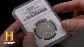 Pawn Stars: John W. Gill Half Dollar (Season 12, Episode 21) | History - HISTORYCHANNEL