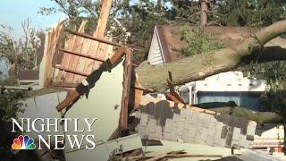 Tornadoes Tear Through Iowa Causing Destruction And Injuries | NBC Nightly News - NBCNEWS