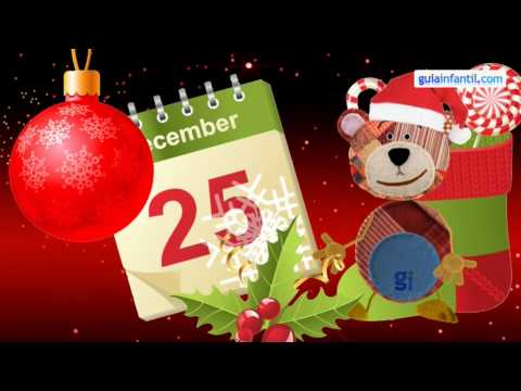 Feliz Navidad, Merry Christmas Carol. Learn Spanish with music
