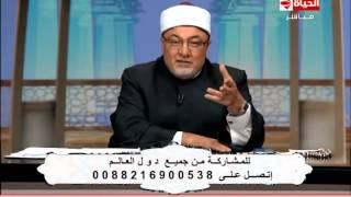 بالفيديو.. خالد الجندي: أداء إسلام بحيري يُشبه «ممثلات السينما» | المصري اليوم
