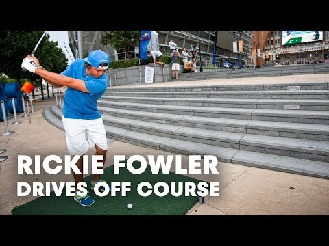 Rickie Folwer takes on Dallas in Off Course