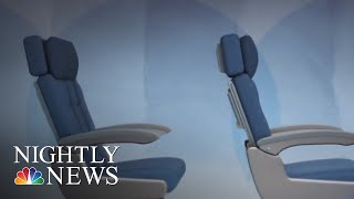 Congress Could Require FAA To Set Minimum Legroom And Seat Size Standards | NBC Nightly News - NBCNEWS
