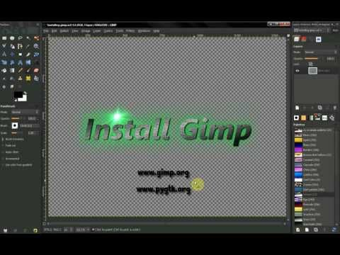 GIMP tutorial: Beginners' Guide ep4 - Setting up GIMP - Installing GIMP