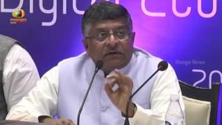 Union Minister Ravisankar Prasad Over Jobs in IT Industries In Industry Consulation Meeting - MANGONEWS