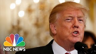 President Donald Trump Presents Public Safety Medal Of Valor Awards | NBC News - NBCNEWS