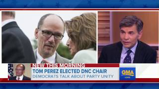 Democrats look toward future with new DNC chair Tom Perez - ABCNEWS
