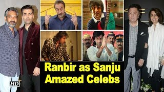 "Ranbir as ""Sanju"" amazed Rishi- Neetu, SS Rajamouli & Karan Johar - IANSLIVE"