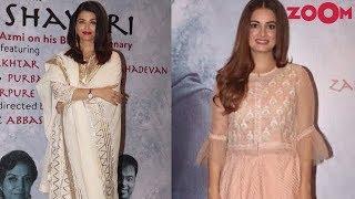 Aishwarya Rai in Abu Jani & Sandeep Khosla | Dia Mirza's desi appearance & more | Style Today - ZOOMDEKHO