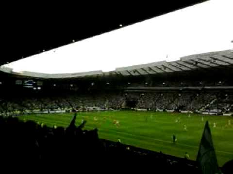 Paddy Mccourts Fenian Army v Motherwell Scottish Cup Final