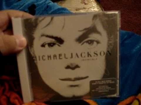 Michael Jackson Invincible CD Unboxing
