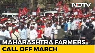 Farmers End March To Mumbai After Talks With Maharashtra Government - NDTV